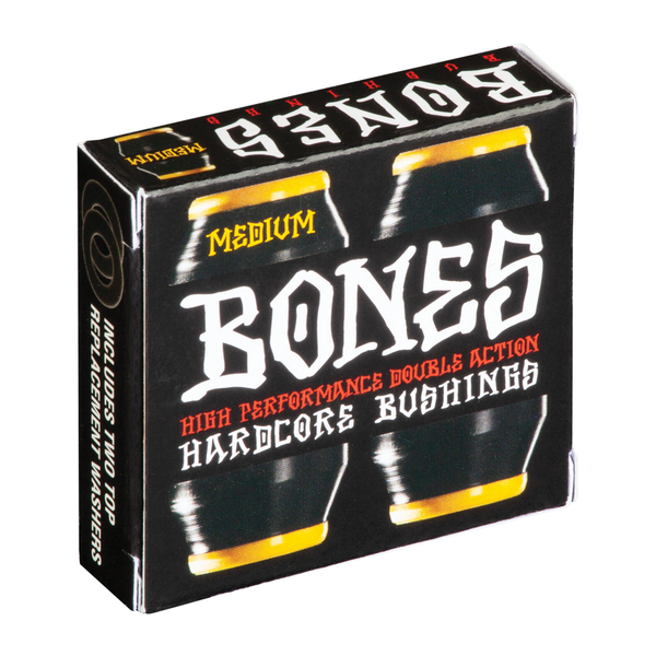 Bones Hardcore Bushings Black - Medium 91A