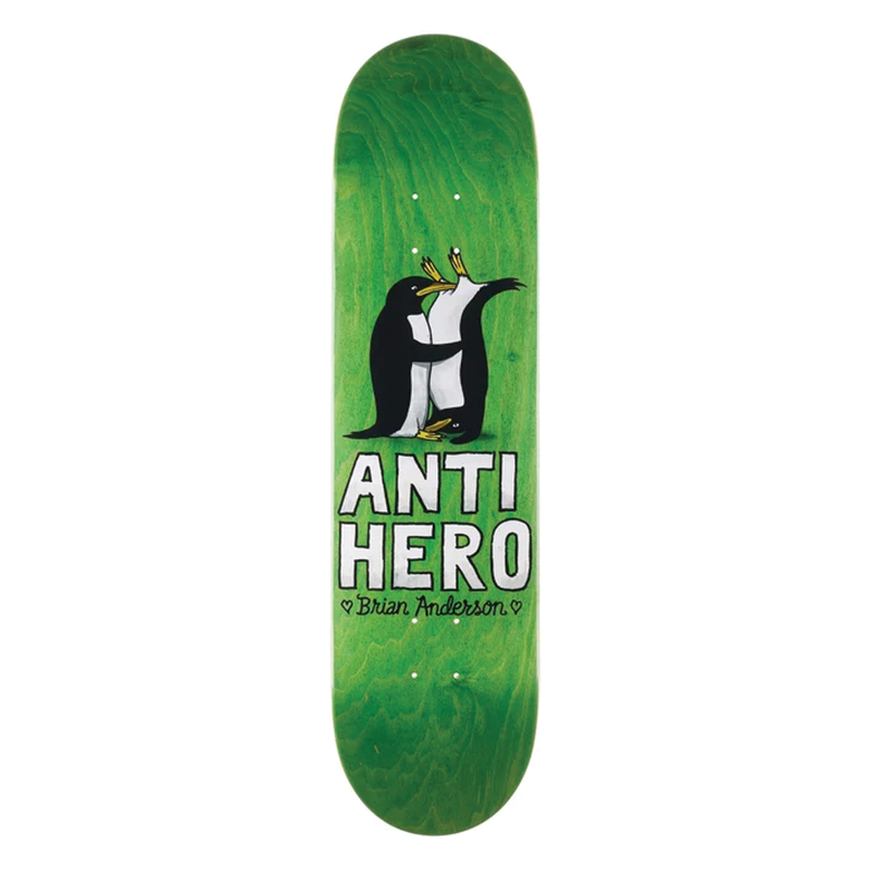 Antihero Anderson Lovers II Deck - 8.5""
