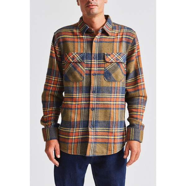 Brixton Bowery L/S Flannel - Sage