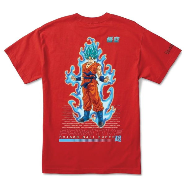 Primitive SSG Goku Tee - Red