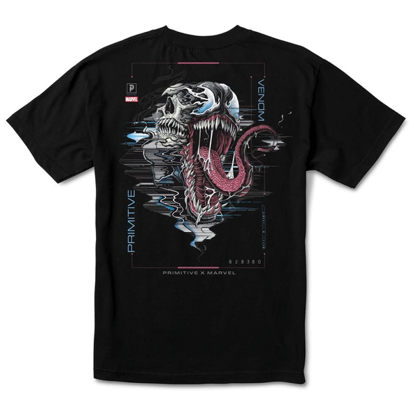 Primitive Marvel Venom Tee - Black