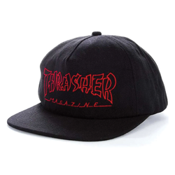 Thrasher China Banks Hat - Black