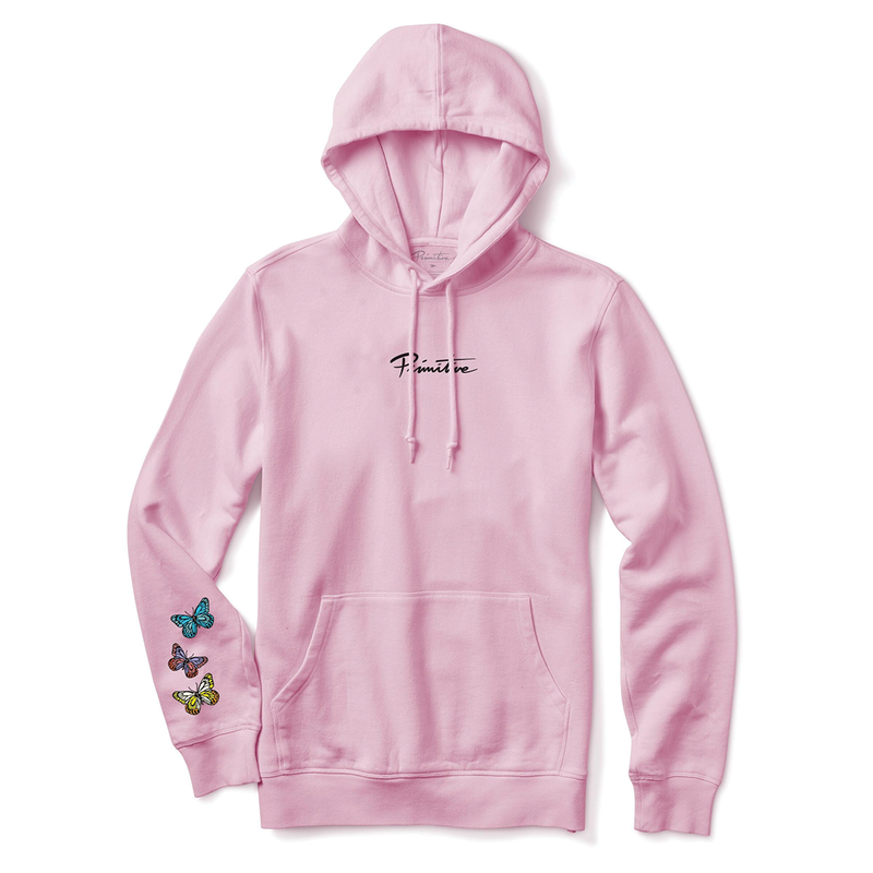 Primitive Codes Hoodie - Light Pink