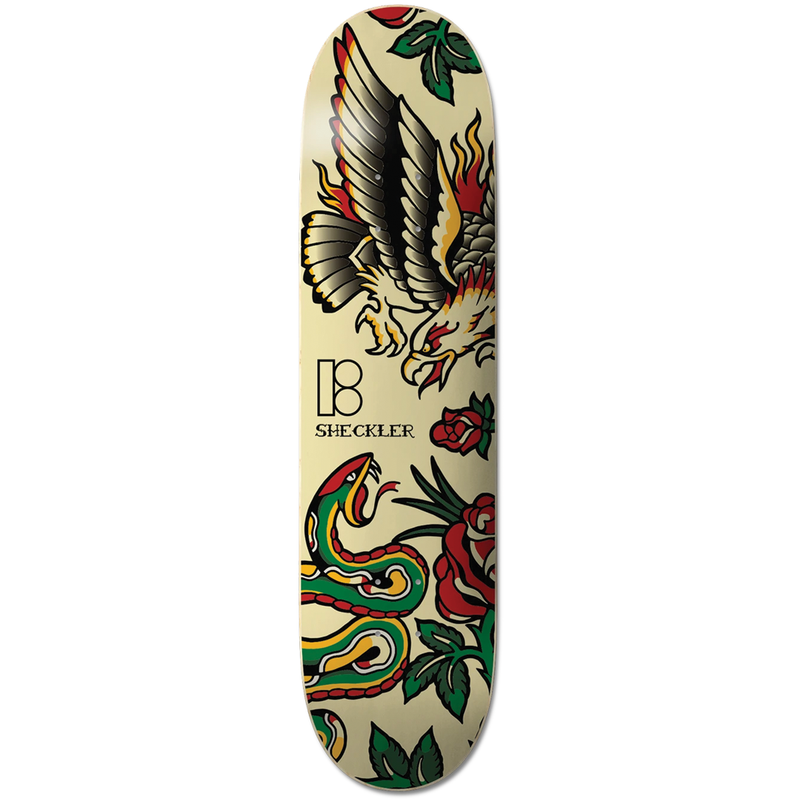 Plan B Sheckler Traditional Deck - 8.0""