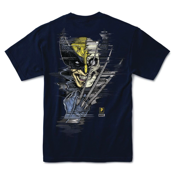 Primitive Marvel Wolverine Tee - Navy