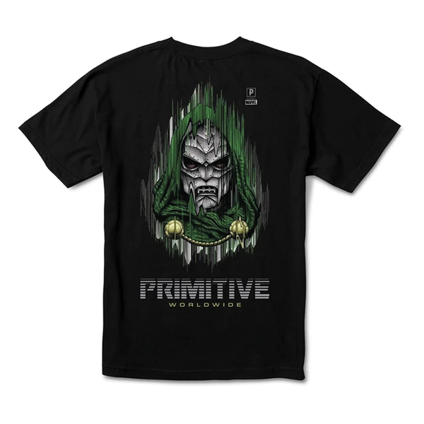 Primitive Marvel Doom Tee - Forest