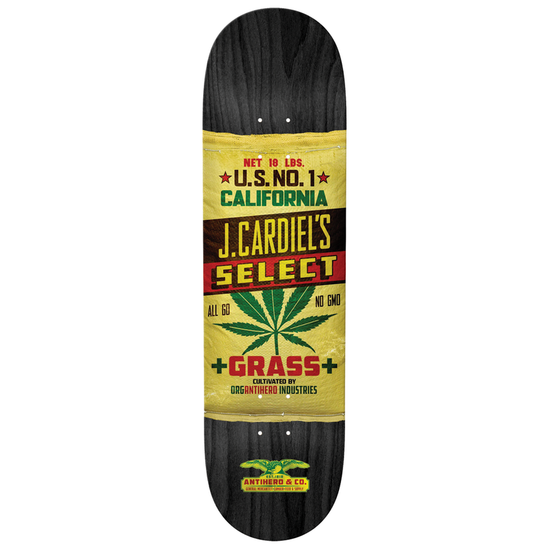 Antihero Cardiel General Mercantile Deck - 8.75""