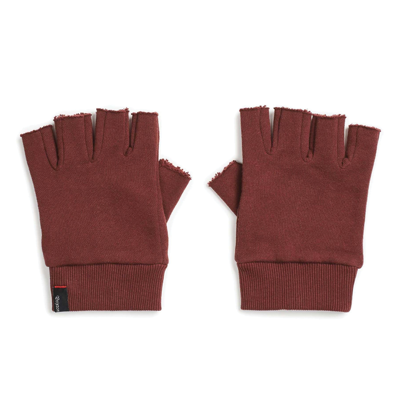 Brixton Robbie Fingerless Gloves - Plum