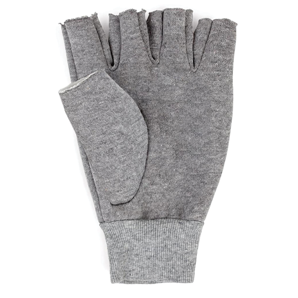 Brixton Robbie Fingerless Gloves - Grey