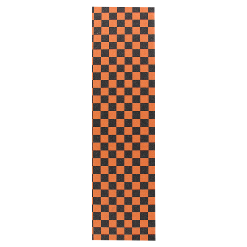 Vault Checkered Grip - Orange/Black