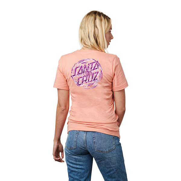 Santa Cruz Tattered Dot Tee - Sunset
