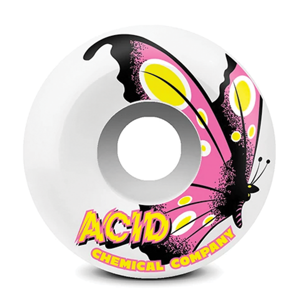 Acid Type A Butterfly 99a - White