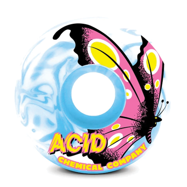 Acid Type A Butterfly 101a - Blue/White