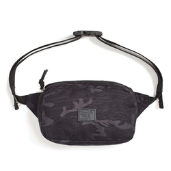 Brixton Stewart Hip Pack - Black Camo