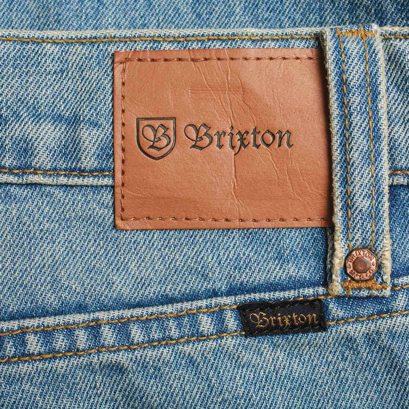 Brixton Reserve 5-Pocket Denim Pant - Faded Indigo