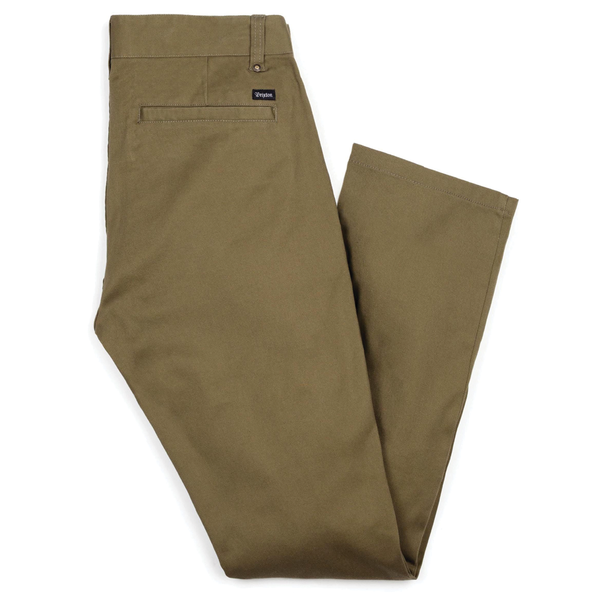Brixton Reserve Chino Pant - Olive