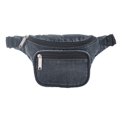 Bumbag Dazed Deluxe Hip Bag - Washed Black