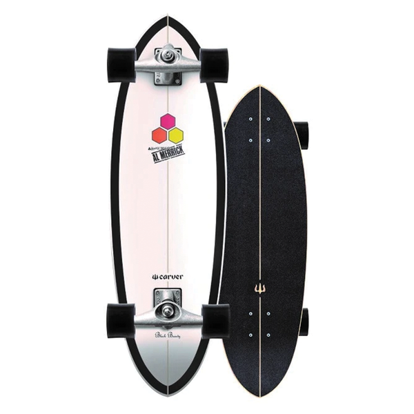 Carver C7 Raw CI Black Beauty Surfskate Complete