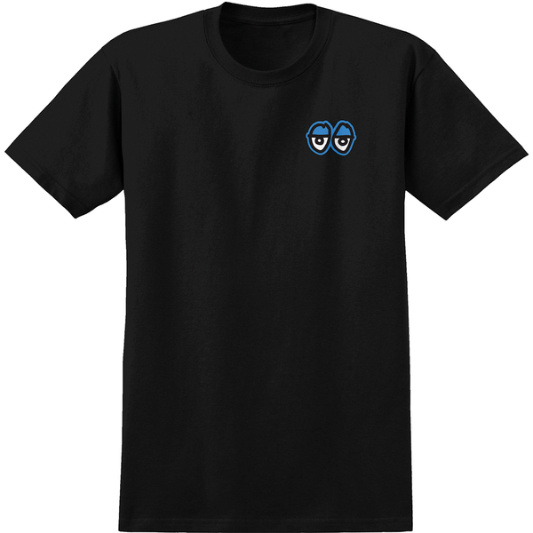 Krooked Straight Eyes Tee - Black/Blue