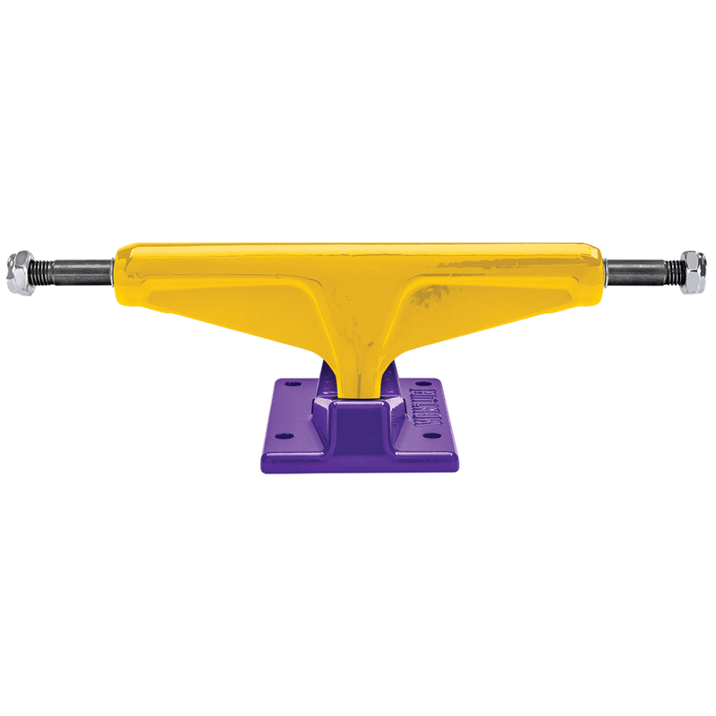 Venture Colored Trucks 5.2 Lo - Yellow/Purple
