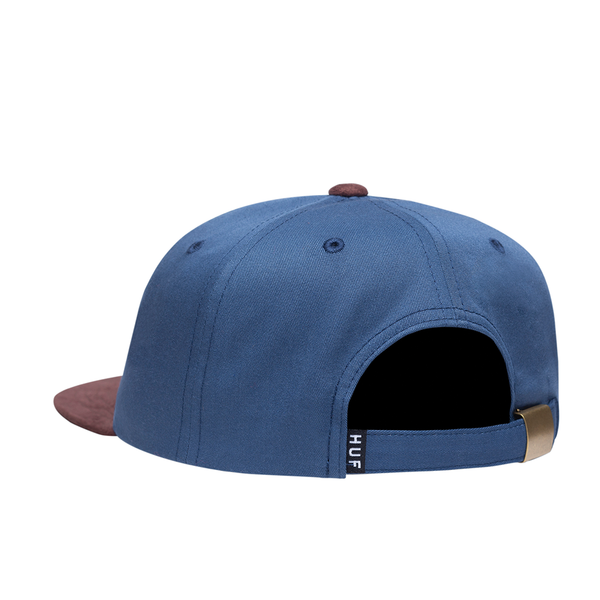 HUF 1984 Contrast 6-Panel Hat - Blue