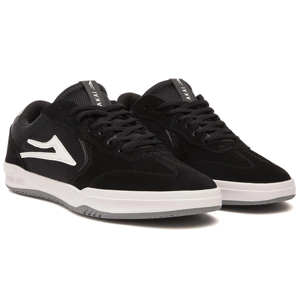 Lakai Atlantic - Black/Light Grey Suede