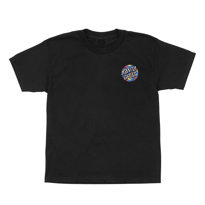 Santa Cruz Primary Dot Youth - Black