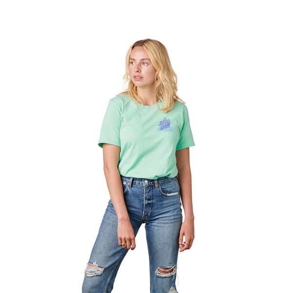 Santa Cruz Not A Dot Women's Tee - Mint