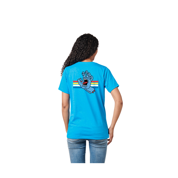 Santa Cruz Locked Hand Women's Tee - Turquoise