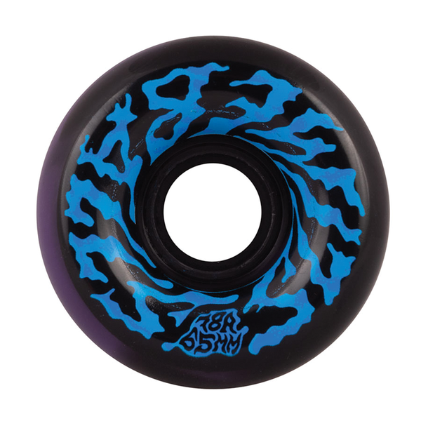 Slime Balls Swirly Black Purple Swirl 78a - 65mm