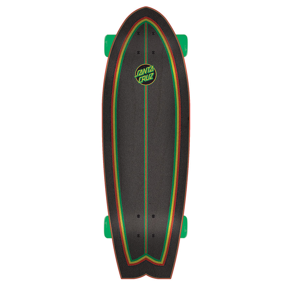 Santa Cruz Rastafied Dot Cruiser Complete