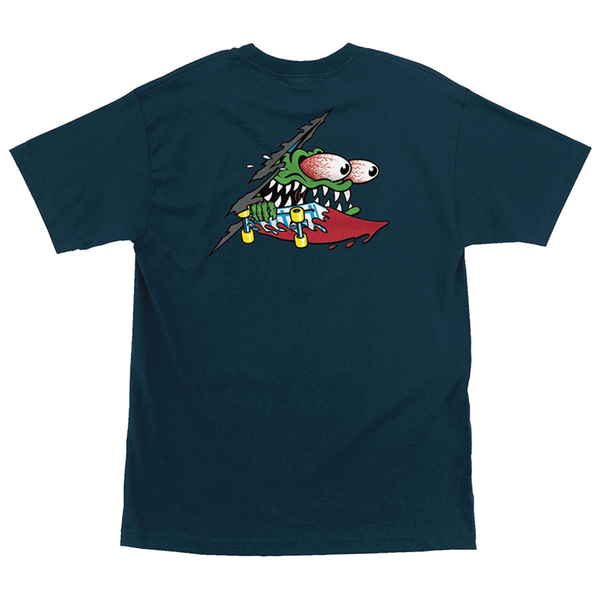 Santa Cruz Slashed Tee - Blue