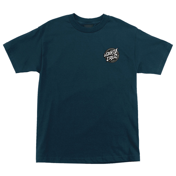 Santa Cruz Damaged Dot Tee - Harbor Blue