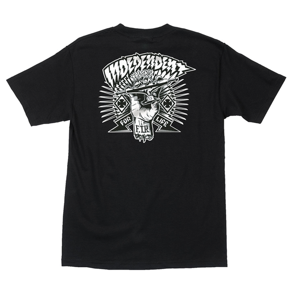 Independent Shredded Tee - Black