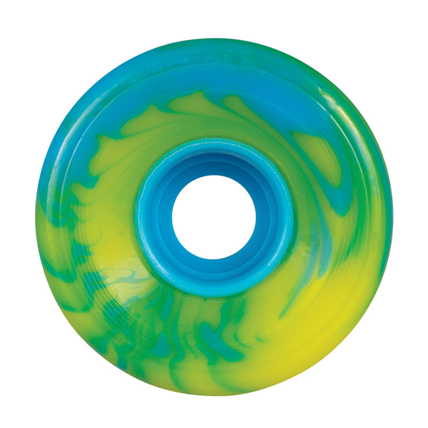 OJ Super Juice Blue Yellow Swirl 78a - 60mm