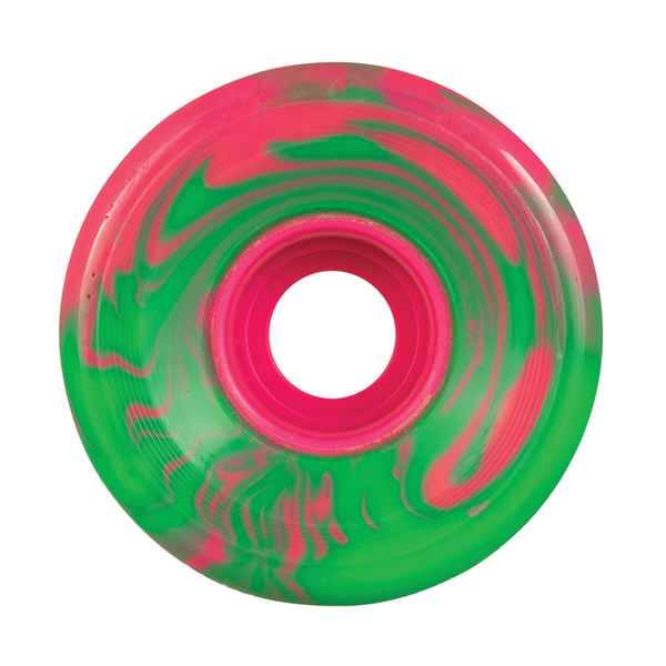 OJ Super Juice Pink Green Swirl 78a - 60mm