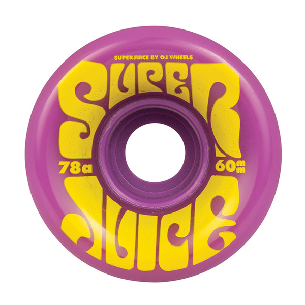 OJ Super Juice Purple 78a - 60mm