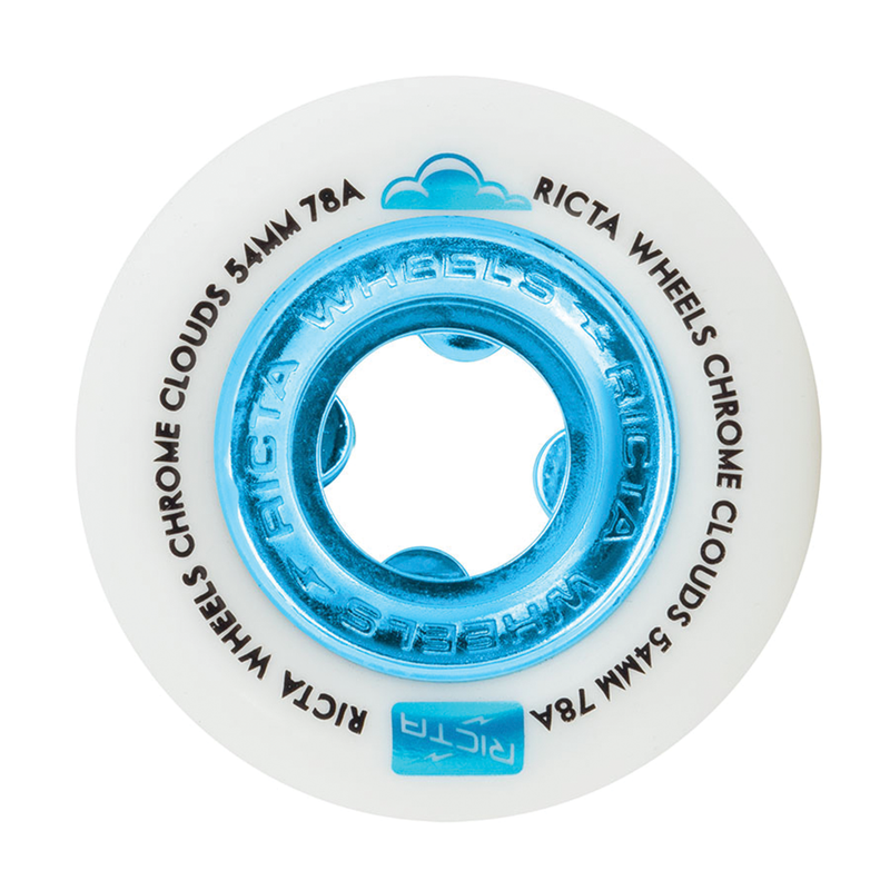 Ricta Chrome Clouds 78a Blue - 54mm
