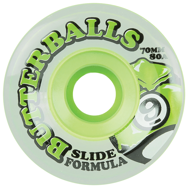 Sector 9 Butterball 80A Green - 70mm