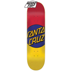 Santa Cruz Process Dot Wide Tip Deck - 8.5""