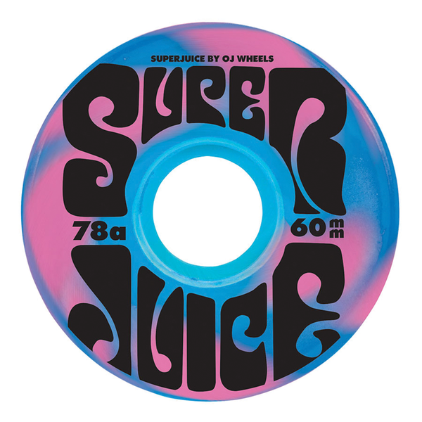 OJ Super Juice 60mm - Blue/Pink
