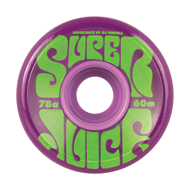OJ Super Juice 60mm - Trans Purple
