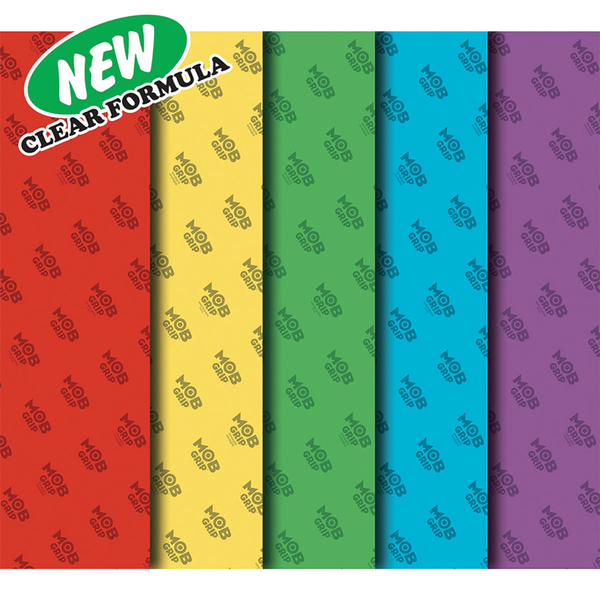 Mob Clear Colors Grip Sheet - Multi