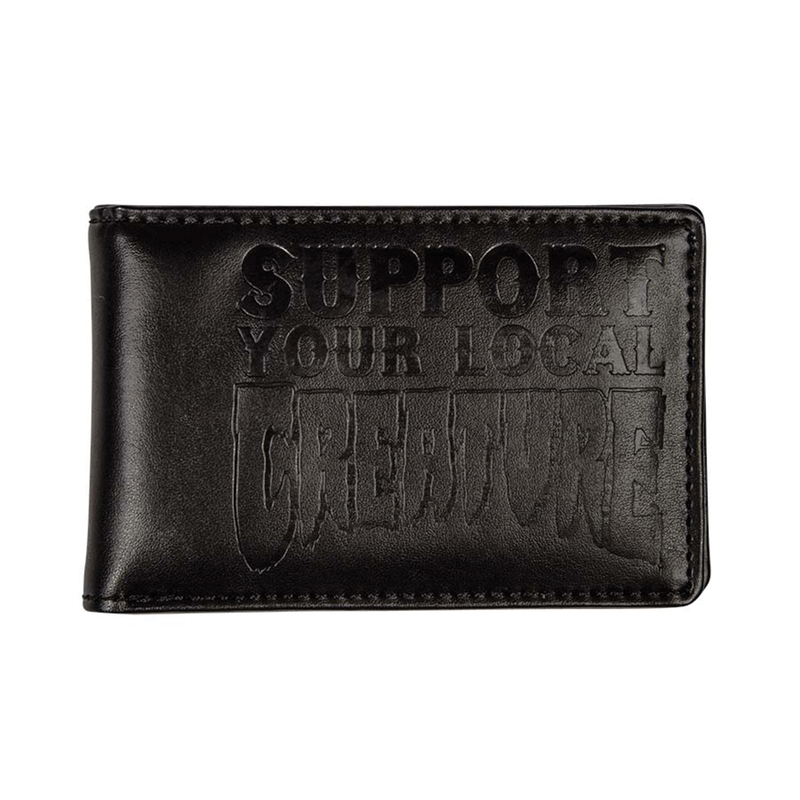 Creature Support Bi-Fold Wallet - Black