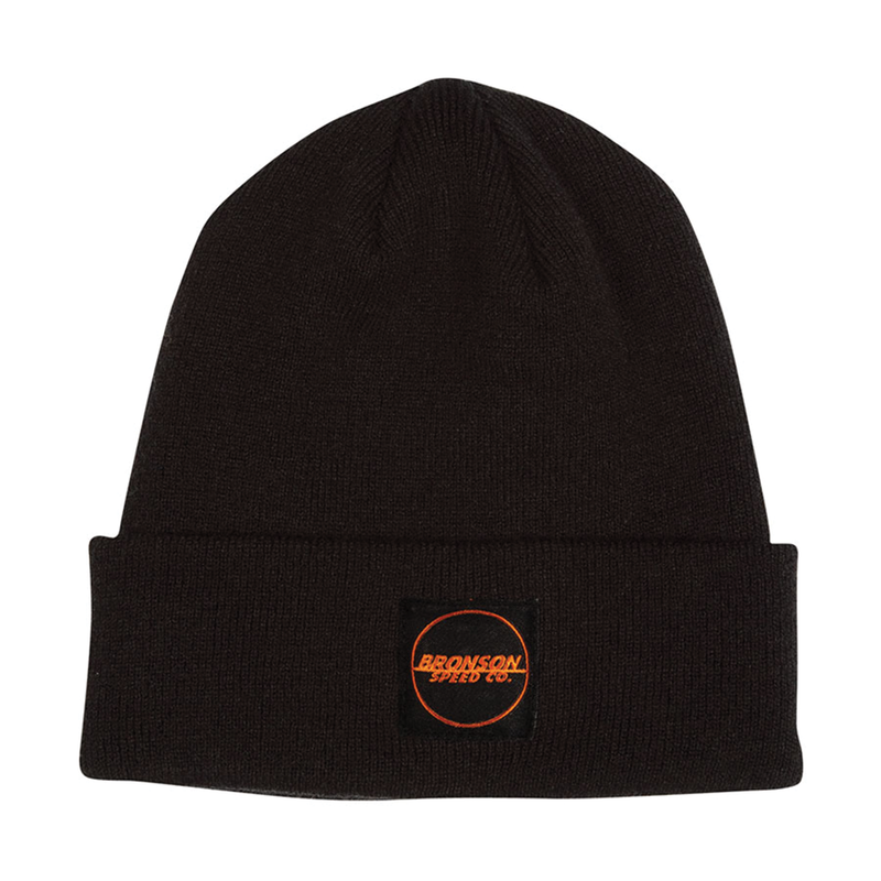 Bronson Spot Outline Beanie - Black