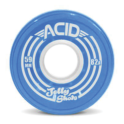 "Acid ""Jelly Shots"" Blue - 59mm"