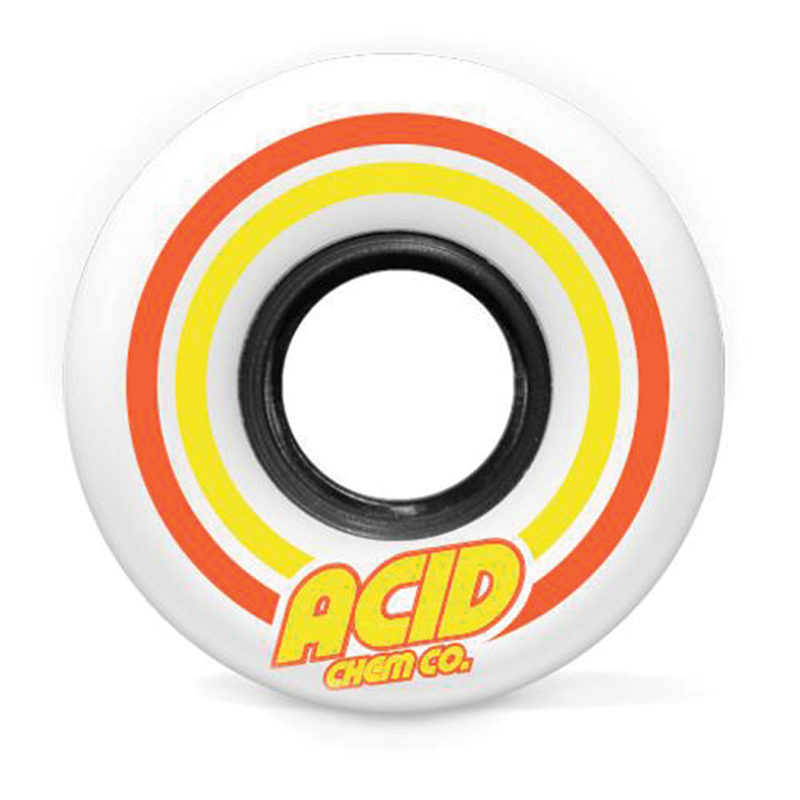 "Acid ""Pods"" Conical Wheel White - 53mm"