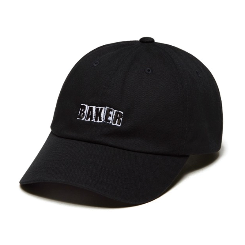 Baker Brand Logo Dad Hat - Black