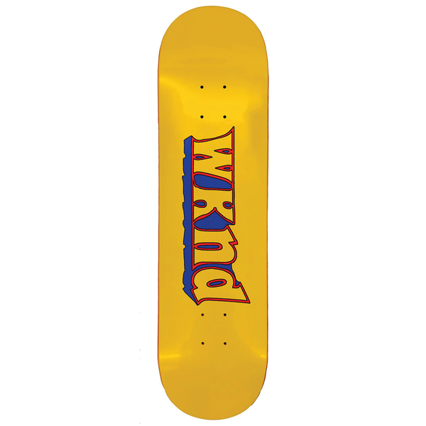 WKND Good Times Deck Yellow - 8.5""