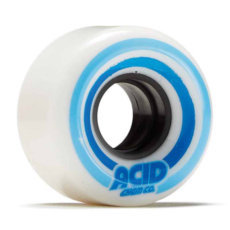 "Acid ""Pods"" Conical Wheel White/Blue - 53mm"